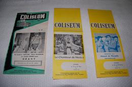 Cinema Coliseum Verviers - Programmes