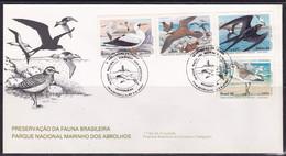 Brasil, 1985, Birds, FDC - Non Classificati