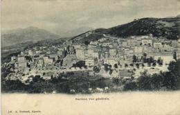 Sartène Vue Generale  A Guittard Ajaccio Recto Verso - Sartene