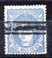 España Sello Nº Edifil 107S  O Barrado - Gebraucht