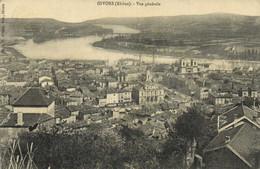 GIVORS (Rhone )Vue Generale Panoramique Recto Verso - Givors