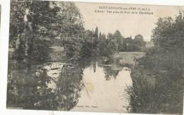 CPA, D.28, Saint Germain Sur Avre- L'Avre , Vue Prise Du Pont De La République, Ed. Foucault 1929 - Altri Comuni
