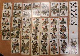 Tarot Card Games Playing Cards + JOKER 1915 HUNGARY Budapest WW1 World War Soldier Battlefield Beograd - Insufficient - Tarots