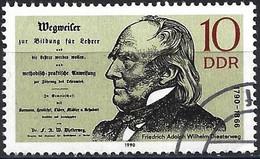 German Democratic Republic 1990 - Mi 3320 - YT 2930 ( Friedrich Adolph Wilhelm Diesterweg ) - Used Stamps