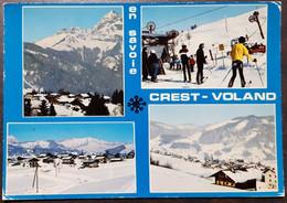 Carte Postal Ecrite - Crest-Voland - Andere Gemeenten