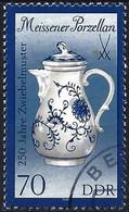 German Democratic Republic 1989 -  Mi 3266 - YT 2849 ( Coffee Pot ) - Used Stamps