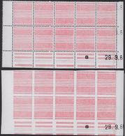 Vignette Expérimentale - BH 6 Et BH7 Blocs De 10 ** Datés_C 60 - Probedrucke