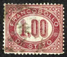 Italy Sc# O5 Used 1875 1l Officials - Service