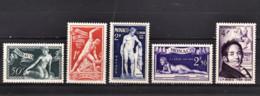 MONACO 1948 - SERIE Y.T.  N° 314 A 318 -  NEUFS** /11 - Neufs