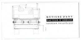 """France 2020 - Souvenir Philatélique Métiers D'Art """"Facteur D'orgues"""" - Sous Blister Non Ouvert - - Souvenir Blocks"""