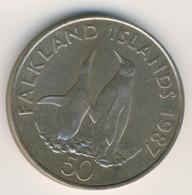FALKLAND ISLANDS 1987: 25 Pence, KM 25 - Falkland Islands