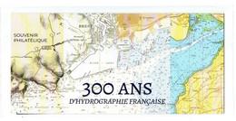 """FRANCE 2020 : BLOC SOUVENIR PHILATELIQUE """" 300 ANS D'HYDROGRAPHIE FRANÇAISE """"  - Sous Blister Non Ouvert - - Souvenir Blocks"""