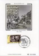 """Les Grands Photographes Français - DOISNEAU """" Les Lilas De Ménilmontant """" - Carte Philatélique 1er Jour 1999 PARIS - TBE - Doisneau"""