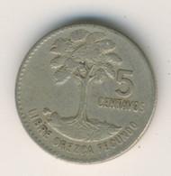 GUATEMALA 1965: 5 Centavos, KM 266 - Guatemala