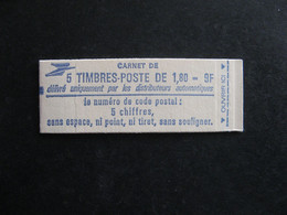 TB Carnet N° 2220 - C1, Daté En Marge, Neuf XX. - Usados Corriente