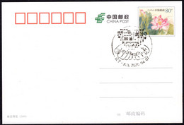 """CHINA DaLian COVID-19 (Chinese Characters""""Stay Strong, Fight Epidemic, WuHan,etc"""" Form Hearts Upon Hands) Postmark - Enfermedades"""