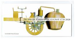"""FRANCE 2020 : BLOC SOUVENIR PHILATELIQUE """" 250 ANS DU FARDIER DE CUGNOT 1770 """"  - Sous Blister Non Ouvert - - Souvenir Blocks"""