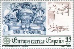 ESPAGNE - EUROPA. Découverte De L'Amérique - 1982