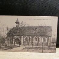 Cpsm  62  LE TOUQUET  église Anglicane En Forêt - Le Touquet