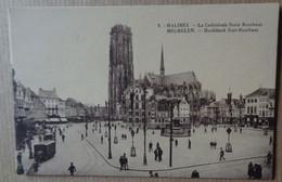Carte Postale – 2. Malines/Mechelen. La Cathédrale Saint-Rombaut/Hoofdkerk Sint-Rombaut---Non écrite/unwritten - Mechelen
