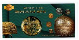 """France 2020 : Souvenir Philatélique """"Métiers D'Art - Graveur Sur Métal""""  - Sous Blister Non Ouvert - - Souvenir Blocks"""