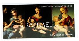 """FRANCE 2020 : BLOC SOUVENIR PHILATELIQUE """" RAPHAËL 1483 - 1520 LA VIERGE DE LORETTE """"  - Sous Blister Non Ouvert - - Souvenir Blocks"""