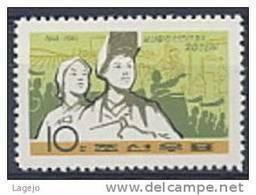 COREE NORD 0688 Egalité Des Sexes - Korea, North