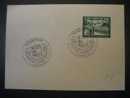 Deutsches Reich 1941- Kameradschaftsblock Mi. 773 Mit Sonderstempel Klagenfurt - Covers & Documents