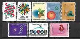 ONU Genève N° 103 à 110  Neufs * * TB =MNH  VF Soldé à La Faciale De 1982  Moins 20 %     Les  Moins Chers Du Site ! ! ! - Ungebraucht