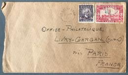 Canada Divers Sur Enveloppe De St Sylvestre 1927 Pour La France - (C1765) - Cartas