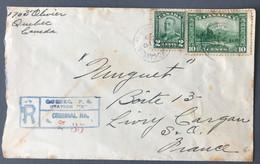 Canada Divers Sur Enveloppe De Quebec 1929 Pour La France - (C1766) - Cartas