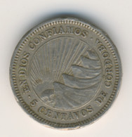 NICARAGUA 1965: 5 Centavos, KM 24 - Nicaragua
