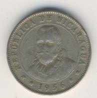 NICARAGUA 1956: 10 Centavos, KM 17 - Nicaragua