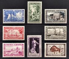 MONACO 1949 SERIE N° 324 A 331 - 8 TP NEUFS** - Neufs