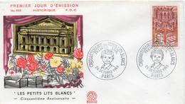 Premier Jour N° 1575 Bal Des Petits Lits Blancs 26/10/1968 Paris édition Coq - 1960-1969