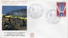 Premier Jour N° 1576 Anniversaire De L'Armistice 09/11/1968 La Capelle édition Coq - 1960-1969