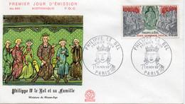 3 Premier Jour N° 1577 à 1579 Histoire De France 16/11/1968 Paris édition Coq - 1960-1969