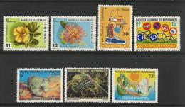 1980 - Y&T N° 436 à 442 - Neufs* (voir Les Scans) - Años Completos