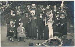 LA ROCHE SUR YON - Carte Photo 1928 - Fête Costumée à L'Ecole Normale De Filles - La Roche Sur Yon