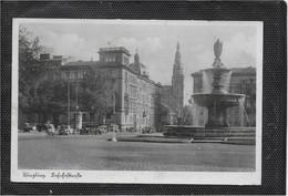 AK 0628  Würzburg - Bahnhofstrasse / Verlag Hospe Um 1940 - Wuerzburg