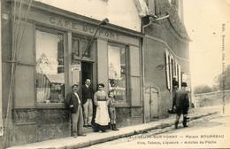 - VILLENEUVE Sur Yonne (89) -  Maison Bourreau, Café Du Pont, éditeur De Cartes Postales  -25087- - Villeneuve-sur-Yonne