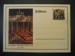 Deutsches Reich Ganzsache 1933- Bild-Postkarte Mi. P 250 Ungebraucht - Stamped Stationery