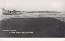N.E.HARBOUR , Nova Scotia , Canada , 00-10s ; Public Wharf , 1000 Ft Long - Non Classificati
