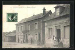 CPA Bolbec-Nointot, Cafe-Restaurant Dupont, Route De Bolbec - Bolbec