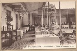 CPA [74] Haute Savoie > Evian-les-Bains - Nouveau Casino - Galerie Du Restaurant - Evian-les-Bains