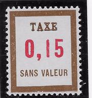 FICTIF - Taxe 15 **_C 1 - Phantomausgaben