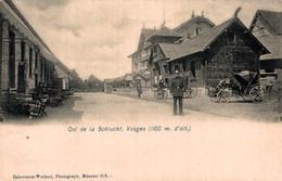 88 LA SCHLUCHT Col De La Schlucht, Vosges  (soldat Allemand) - Andere Gemeenten