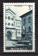 MONACO 1951 -  Y.T.  N° 369  - NEUF** - Unused Stamps