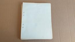 Lot N° TH 151 FRANCE 1850 / 1970 Un Lot De Timbres Neufs X Ou Collés Et Obl. Sur Page D'albums - Sammlungen (im Alben)