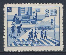 Taiwan Republic Of China 1969 Mi 729 SG 707 ** Housekeeping And Road-safety / Verkehr- Model Citizen's Life Movement - Incidenti E Sicurezza Stradale